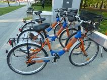 Rower miejski (wypożyczalnia rowerów) -