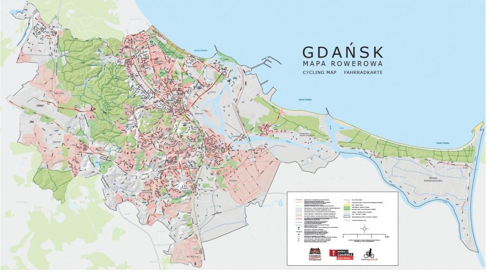 Gdansk Rozdaje Rowerzystom Mapy Wrower Pl Rowery Od A Do Z