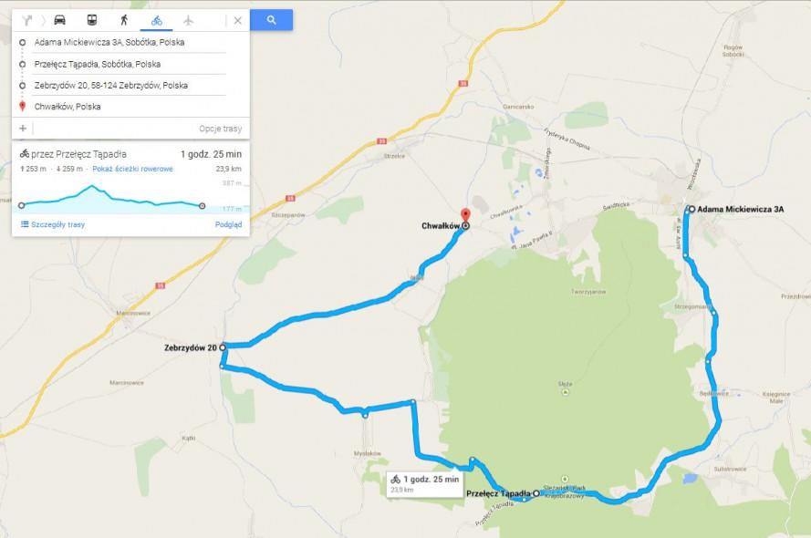 Nowe Google Maps Z Profilem Wysokosci Wrower Pl Rowery Od A Do Z