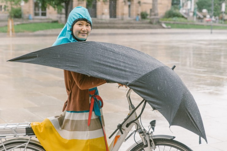 UNDER-COVER Bike Umbrella - rowerowy parasol